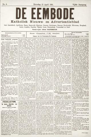De Eembode 1891-04-25