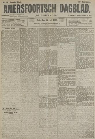 Amersfoortsch Dagblad / De Eemlander 1916-07-15