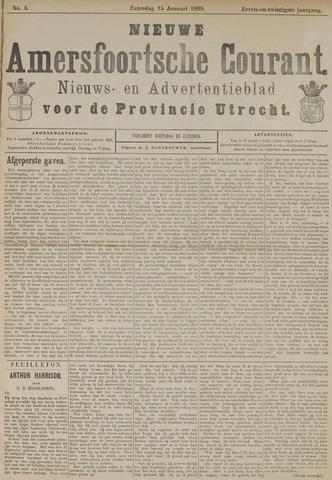 Nieuwe Amersfoortsche Courant 1898-01-15