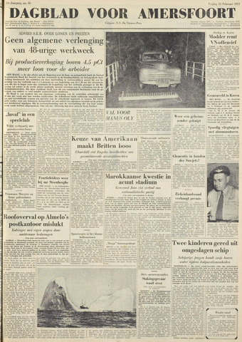 Dagblad voor Amersfoort 1951-02-23