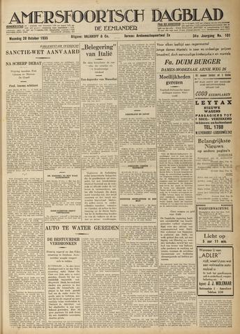 Amersfoortsch Dagblad / De Eemlander 1935-10-28