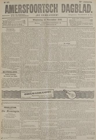 Amersfoortsch Dagblad / De Eemlander 1916-11-15