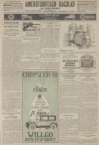 Amersfoortsch Dagblad / De Eemlander 1927-11-26