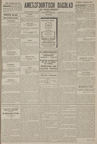 Amersfoortsch Dagblad / De Eemlander 1927-02-11