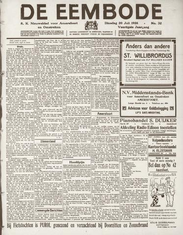 De Eembode 1926-07-20