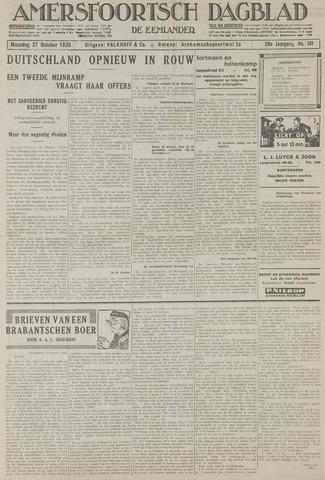 Amersfoortsch Dagblad / De Eemlander 1930-10-27