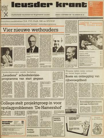 Leusder Krant 1987-09-15