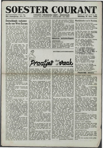 Soester Courant 1946-11-26