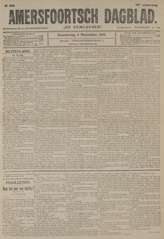 Amersfoortsch Dagblad / De Eemlander 1915-11-04