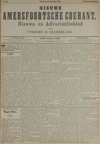 Nieuwe Amersfoortsche Courant 1885-12-19