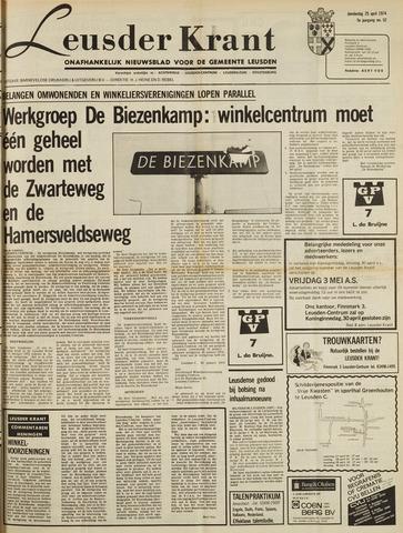 Leusder Krant 1974-04-25