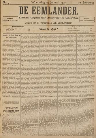 De Eemlander 1907-01-23