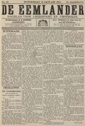 De Eemlander 1910-01-13