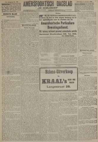 Amersfoortsch Dagblad / De Eemlander 1919-01-11