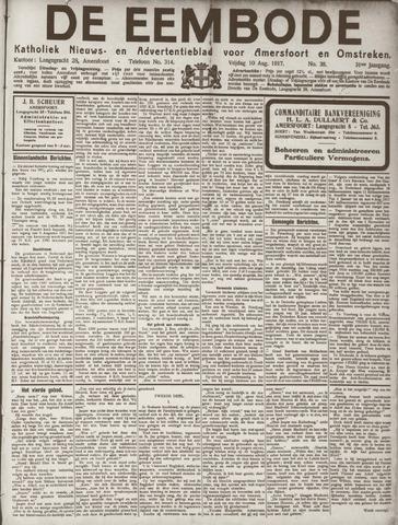 De Eembode 1917-08-10