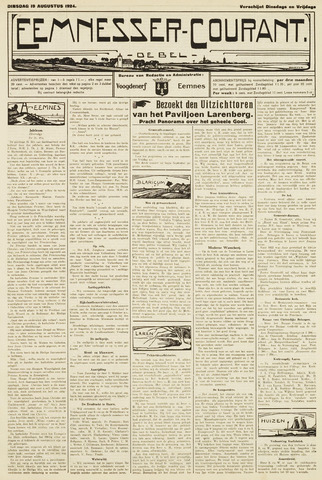 Eemnesser Courant 1924-08-19