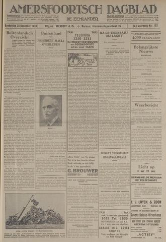Amersfoortsch Dagblad / De Eemlander 1933-12-28