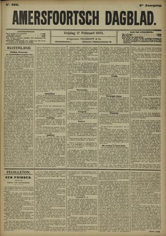 Amersfoortsch Dagblad 1905-02-17