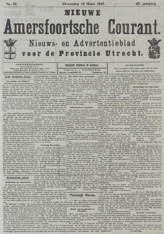 Nieuwe Amersfoortsche Courant 1918-03-13