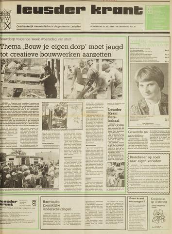 Leusder Krant 1986-07-31