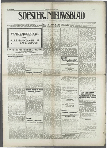Soester Courant 1933-08-04