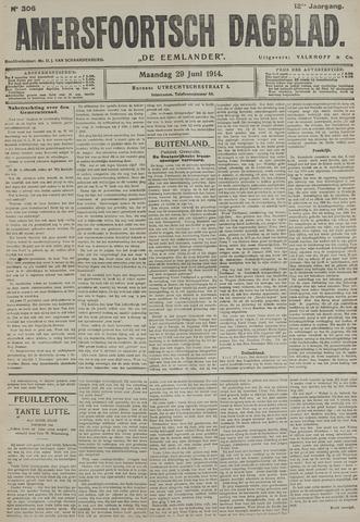 Amersfoortsch Dagblad / De Eemlander 1914-06-29