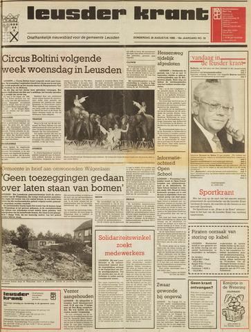 Leusder Krant 1986-08-28