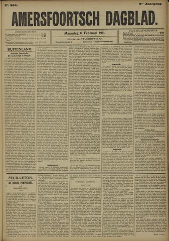 Amersfoortsch Dagblad 1911-02-06