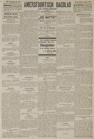Amersfoortsch Dagblad / De Eemlander 1927-04-20