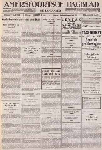 Amersfoortsch Dagblad / De Eemlander 1935-06-11