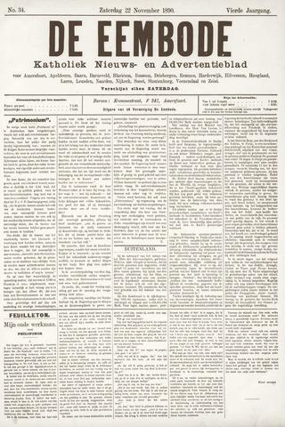 De Eembode 1890-11-22