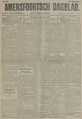 Amersfoortsch Dagblad / De Eemlander 1917-10-09