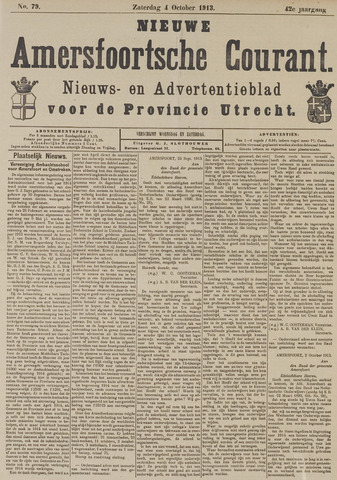 Nieuwe Amersfoortsche Courant 1913-10-04