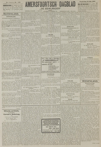 Amersfoortsch Dagblad / De Eemlander 1923-05-24