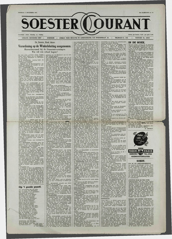 Soester Courant 1952-12-02