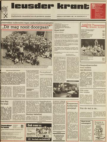 Leusder Krant 1986-09-30