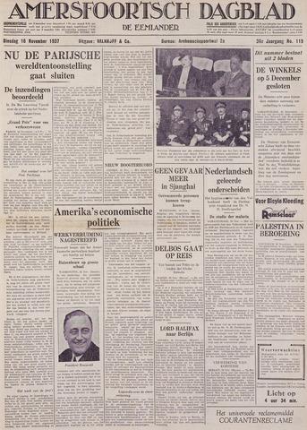 Amersfoortsch Dagblad / De Eemlander 1937-11-16