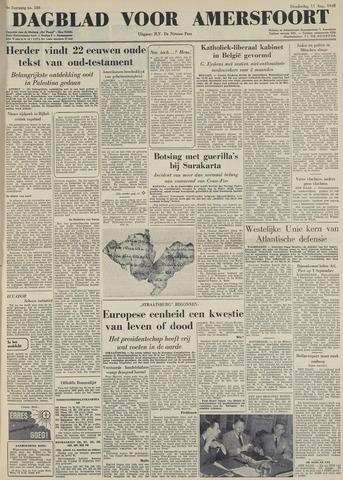 Dagblad voor Amersfoort 1949-08-11