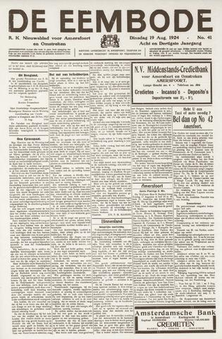 De Eembode 1924-08-19