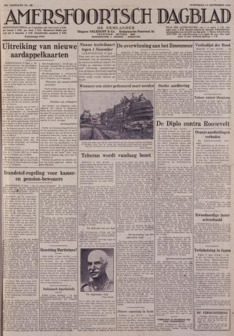 Amersfoortsch Dagblad / De Eemlander 1941-09-17
