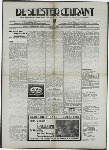Soester Courant 1936-10-30