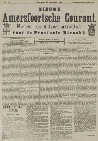 Nieuwe Amersfoortsche Courant 1908-11-18