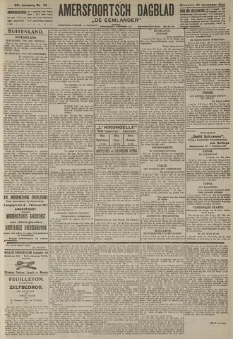 Amersfoortsch Dagblad / De Eemlander 1923-09-26