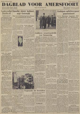 Dagblad voor Amersfoort 1948-02-24