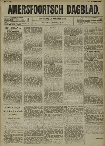 Amersfoortsch Dagblad 1908-10-21