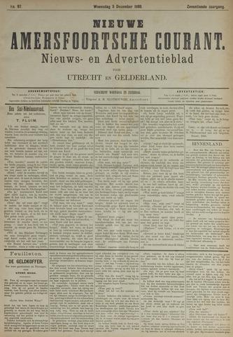 Nieuwe Amersfoortsche Courant 1888-12-05