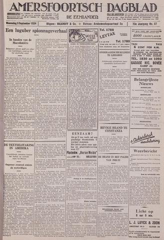 Amersfoortsch Dagblad / De Eemlander 1934-09-05