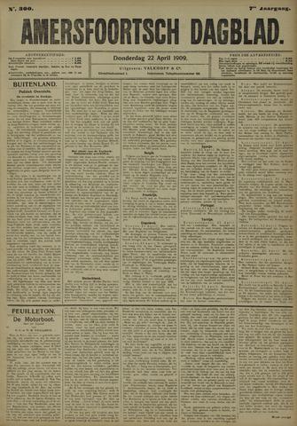 Amersfoortsch Dagblad 1909-04-22