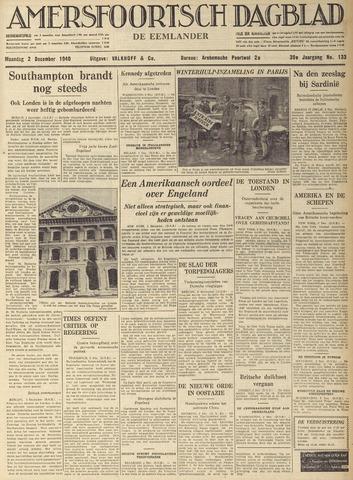 Amersfoortsch Dagblad / De Eemlander 1940-12-02