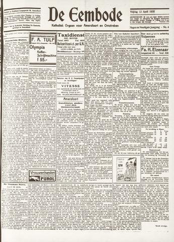 De Eembode 1935-04-12